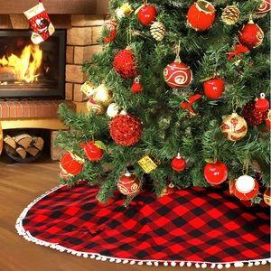 🎀 NEW Buffalo Christmas Tree Skirt 🎀